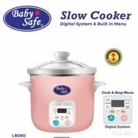 Baby Safe Lb06D Slow Cooker 1.5 L Auto Menu Digital Memasak