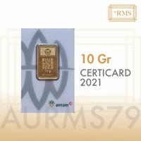 10 GR (GRAM) LOGAM MULIA/LOGAM MULIA ANTAM/LM/EMAS ANTAM BERSERTIFIKAT