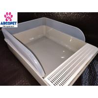 CAT LITTER BOX ARTHACAT - TEMPAT BAK PASIR KUCING BESAR - GOJEK/GRAB