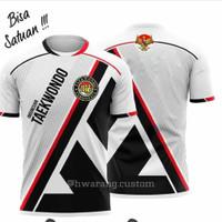 Jersey Baju Atasan Bela Diri Taekwondo Custom Full Printing