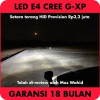 Headlamp LED E4 G-XP Chip - Headlight H1 H4 H7 H8 H9 H11 H16EU HB3 HB4