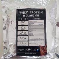 Susu Whey Protein ISOLATE WPI 90 rasa Coklat 500 gram