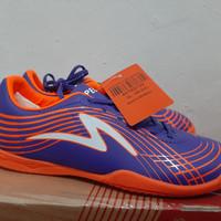 sepatu futsal anak specs accelerator lightspeed blue orange - 33