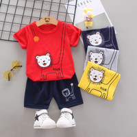 Setelan Tianzhi 1 - 4 Tahun / Baju Anak Cowok Kaos Import Cewek Laki