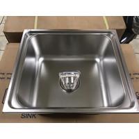 Bak Cuci Piring Ukuran 48 X 42 X 20 Sink Wastafell merk Oki