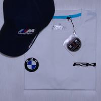 Kaos Baju BMW E34 Logo Exclusive Print Heat Resistance