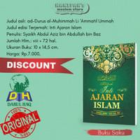 Buku Inti Ajaran Islam Darul Haq Syaikh Bin Baz Ukuran Kecil Saku