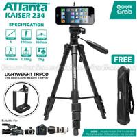 Attanta Kaiser 234 Video LightWeight Tripod DSLR Smartphone + Holder U