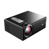 Cheerlux C8 Mini LED 1800 Lumens 1080p Projector Proyektor TV Tuner