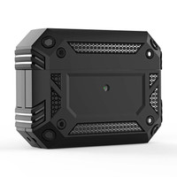 SS17012 - ROBOT SHOCKPROOF TPU PC CASE APPLE AIRPODS PRO BLACK