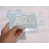 Cutting Sticker Oracal Custom Design Surabaya