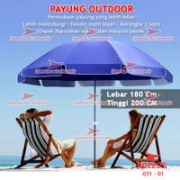 Tenda Payung Event Pantai Cafe Bazaar Parasol Diameter 85cm lx 031-1