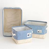 Water-proof Storage Bag Mini Cosmetic Basket / Kanvas Keranjang H057