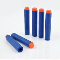 Peluru Pistol / Gun Ammo / Soft Bullet Dart Refill Mainan - Biru