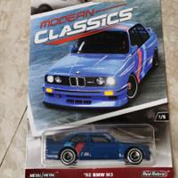 Hot Wheels 92 BMW M3 Modern Classics HotWheels Ban Karet