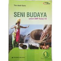 Buku Seni Budaya kelas 7 ERLANGGA KTSP 2006 TERMURAH!!