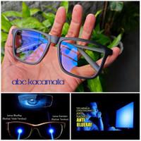 kacamata lensa anti radiasi blue ray KOMPUTER/HP/LAPTOP/GAMERS