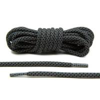 Yeezy laces Black Reflective, Sepatu Tali Hitam Reflective