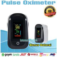 Oximeter Fingertip Pulse Alat Pengukur Kadar Oksigen Detak Jantung