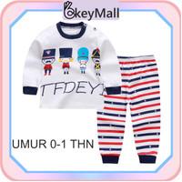 OkeyMall BB02 (5) Piyama Anak Lengan Panjang / Baju Karakter Import