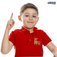 Kaos kerah / Polo Shirt Imlek Anak Tahun Kerbau - year of ox 2021