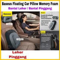 Baseus Floating Car Pillow Memory Foam Bantal Leher / Bantal Pinggang