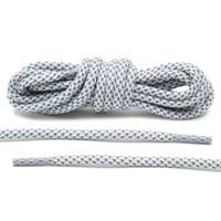 Yeezy laces White Reflective, Sepatu Tali Putih Reflective