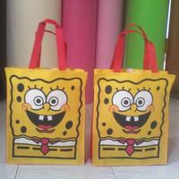 Goodie bag spongebob | Tas ultah anak | Tas Kartun Murah | Termurah