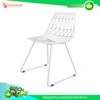 Furniture Besi, Kursi Besi Minimalis, Kursi, Meja Besi, FB-090