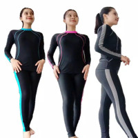 Baju renang dan diving wanita panjang