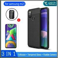 Case Samsung M21 2020 Bonus Tempered Glass Samsung Galaxy M 21