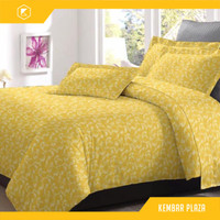 BADCOVER SET BEDCOVER 180X200 160X200 BAD BED COVER MURAH 120x200 gold
