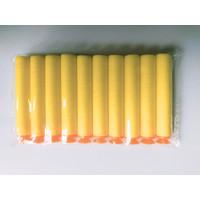 Peluru Pistol Nerf Suction/Gun Ammo/Soft Bullet Refill Mainan - Kuning - Hitam