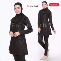 Baju renang perempuan muslim dewasa baju renang wanita anak remaja - A79, M