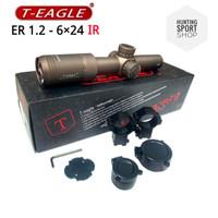 Telescope T EAGLE 1.2-6x24 IR - Teleskop - Scope Teropong