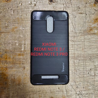 Silikon capdase soft case karet hitam xiaomi xiomi redmi note3 note 3
