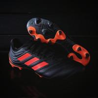 Sepatu Bola Adidas Copa 20.3 FG Black Orange Original EH1498