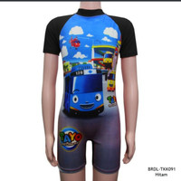 Baju Renang Anak Usia 4-9thn Karakter Tayo BRDL-TK091