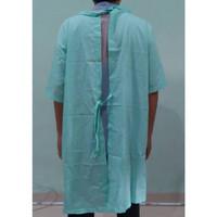 Baju Pasien Rumah Sakit Ikat Belakang