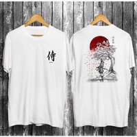 OP121 SIZE L & XL Kaos Distro Pria T-Shirt Pria Kaos Pria Warrior