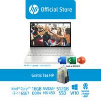 HP ENVY Laptop 13-ba1033TX /13/i7-1165G7/16GB/MX 450 2GB/512GB SSD