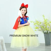 GA2264 PREMIUM SNOW WHITE DRESS [BAJUKIDDIE] BAJU ANAK DRESS ANAK GIRL