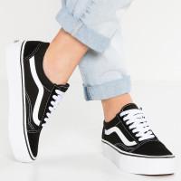 Sepatu Vans Old School - Hitam