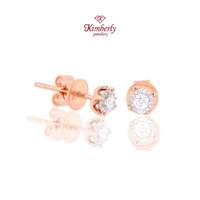 Earring Diamond / Anting Berlian Kimberly KER588454 - Rose Gold
