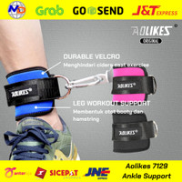 AOLIKES Ankle Strap Wrap Hook Cuff Support Leg Resistance Fitness Gym