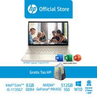 HP ENVY Laptop 13-ba1031TX Laptop/Core i5/8GB/NVIDIAMX450/512GB SSD