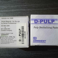 Devitalisasi Non arsen Dental D Pulp Devitalising pasta