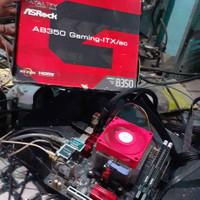 Mini ITX Asrock AB350 Gaming-ITX/ac AM4 For Ryzen 9 7 5 3