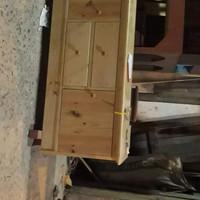 rak tv minimalis di buat dari kayu jati Belanda