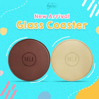 Souvenir Tatakan Gelas (Glass Coaster)